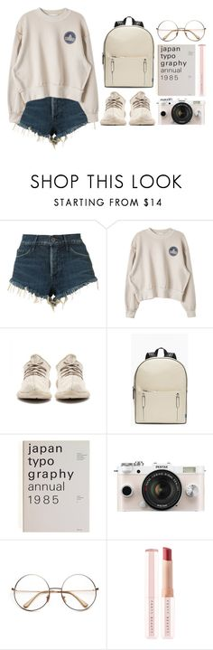 """""""I love myself."""" by antisocial-vagabond ❤ liked on Polyvore featuring 3x1, Rebecca Minkoff, Pentax and Puma"""