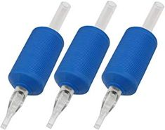 ITATOO® 1 Inch 9 Mag Silicone Soft Blue Disposable Tattoo Tubes with Grip Clear Long Tips 9 Magnum for Tattoo Needles * Learn more by visiting the image link. (This is an affiliate link) Tattoo Machine Frames, Tattoo Machine Parts, Rotary Tattoo Machine, Tattoo Ink Sets, Tattoo Kits, Body Art Tattoos, Blue Tattoo, Color Tattoo