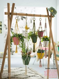 Hanging planter indoor Wall succulent planter Ceramic plant hanger Ceramic plant holder Wall succulent pot Hanging plant pot - Plant Pot - Ideas of Plant Pot - diy planter ideas Diy Macramé Suspension, Casa Kids, Decoration Plante, Green Decoration, Succulent Pots, Plant Pots, Plant Wall, Succulent Ideas, Succulent Containers