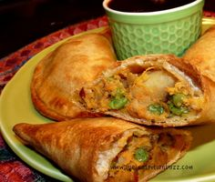 Wholegrain Baked Samosa Stuffed With Sweet Potatoes & Peas recipe from Sue's Nutrition Buzz! Yum! These sound so good! Love the flavours/ spices with the sweet potato!! Also, they are so much healthier than most samosa and are easy to make!