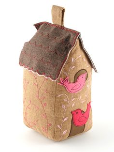 E-Commerce :: Homeware - Memorial Birdhouse In Your Soul, Door Draft, Door Stopper, Bird Houses, Home Furnishings, Home Accessories, Sewing Projects, Christmas Crafts, Applique