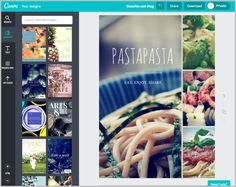 create a brochure in canva beauty guide pinterest online
