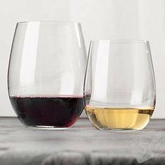 Riedel 'O' Stemless Wine Glass Cabernet & Chardonnay/Viognier Mixed Set -Set of . $89.82