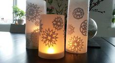 Lanterner med snefnug DIY | Vidunderlige Årstider