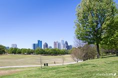 #Run this 2.8 mile out-and-back, unpaved trail north of the Eastside BeltLine from Piedmont Park to Montgomery Ferry in Midtown #Atlanta
