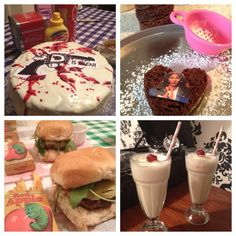 """The Secluded Tea Party: How To Throw A Themed Tea Party: A TARANTINO PARTY / """"CAKETIN TARANTINO"""""""