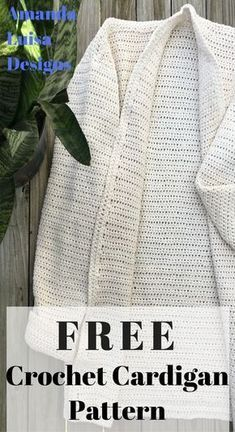 Easy to follow FREE crochet pattern!