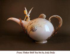 Franz Tinker Bell Teapot by Jody Daily