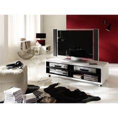 Wunderbar - Udo XL TV-meubel - Zwart/Wit