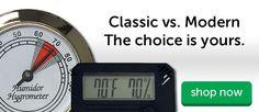 Analog or Digital Hygrometers