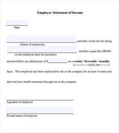 Sample Employment Verification Form | Employment Verification Letter Template Templates Forms