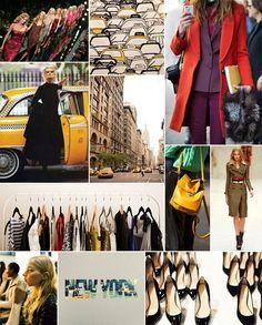 New York Fashion Week Inspiration Board | Camille Styles