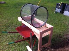 Trommel Compost Sifter - All