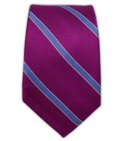 Pipe Dream Stripe - Azalea (Skinny) | Ties, Bow Ties, and Pocket Squares | The Tie Bar