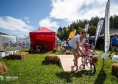 LittleBig balance bike at the Enduro World Series in Wicklow Ireland. Balance Bike, World Series, Ireland, Dolores Park, Gallery, Travel, Viajes, Roof Rack, Destinations