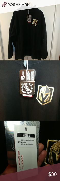 Shop Men's Antigua Black size Sweatshirts & Hoodies at a discounted price at Poshmark. Description: New with Tags Vegas Golden Knights pull over.