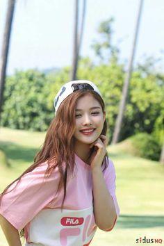 Kim Yoo Jung (FILA) - Imgur Korean Makeup Look, Asian Makeup, Cute Korean Girl, Asian Girl, Cute Girl Pic, Cute Girls, Korean Actresses, Actors & Actresses, Kim Yoo Jung Fashion