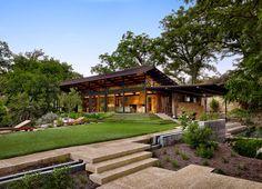 Design Hub - блог о дизайне интерьера и архитектуре: Поэтическое ранчо в Техасе