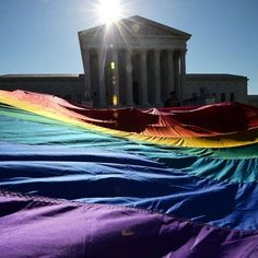 The Supreme Court ruled today that same-sex couples in all 50 states have a right to marry! ‪#‎lovewins‬ #equalityforall