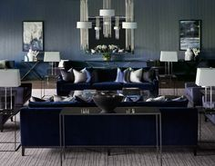 Luxury Living Room Decoration by Katharine Pooley | See more @ http://diningandlivingroom.com/luxury-living-room-decoration-katharine-pooley/
