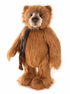 Charlie Bears Kassius is a large teddy bear. This commanding but friendly grizzly bear has sweet sentimental eyes, lovely shaded muzzle. Kassius can stand. Boyds Bears, Teddy Bears, Large Teddy Bear, Hershey Bears, Charlie Bears, Plush Animals, Stuffed Animals, Bear Paws, Bear Doll