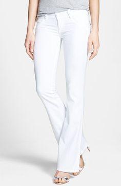 Hudson Jeans Signature Flap Pocket Bootcut Stretch Jeans
