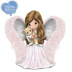 Precious Moments Purr-fect Little Angel Figurine