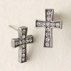 Enchanted Cross Earrings - NEW  www.nicoleglassgow.jewelkade.com