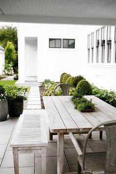 Trädgårdsinspiration för nybyggda hus