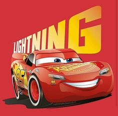LIGHTNING!!! Cars Movie Characters, Cars 2 Movie, Disney Cars Movie, Disney Cars Party, Car Party, Disney Nursery, Baby Disney, Mc Queen Cars, Lightening Mcqueen