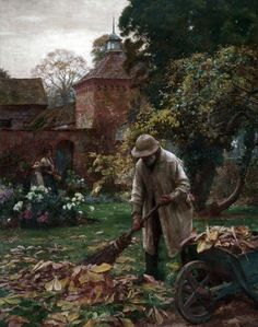 When the Leaves Fall - William Teulon Blandford Fletcher