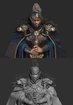 ArtStation - The King, Lin zhang