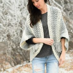 You will love this Crochet Cocoon Shrug Pattern and we have a fabulous collection of free patterns that you are going to love. Lots of gorgeous ideas.