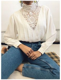 Retro Outfits, Outfits Hipster, Vintage Outfits, Outfits For Teens, Fall Outfits, Hipster Clothing, Lace Clothing, Summer Outfits, Indie Outfits