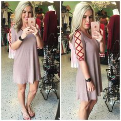 Caged Dress: Burgundy from privityboutique