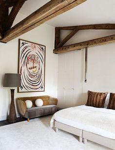 /// Furniture Styles, Home Furniture, Pierre Yovanovitch, Architecture Design, Interior Decorating, Interior Design, Wood Beams, Beautiful Space, Decoration