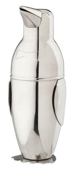 18 oz. Penguin Stainless Steel Cocktail Shaker