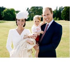 Kate Middleton, Príncipe William, George e Charlotte