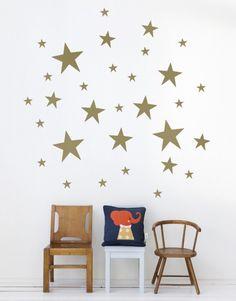 Stars Wallsticker at Rose & Grey