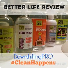 Because Clean Happens with Better Life products Exclusively at Target Canada + Giveaway (CAN/Dec.27)