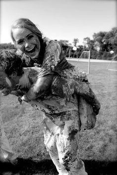 muddy engagement pictures??! YES!!