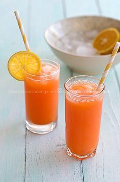 Carrots and orange juice