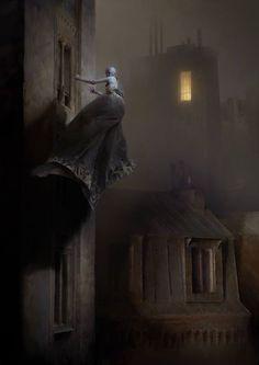 Dishonored 2 Serkonan Legends Artwork by Piotr Jablonski Concept Art World Digital Painter, Digital Art, Arte Horror, Horror Art, Dark Fantasy Art, Art Sinistre, Art Visionnaire, Arte Black, Concept Art World