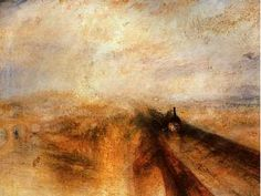 LLUVIA, VAPOR Y VELOCIDAD, 1844. W. Turner Alejandra Durán