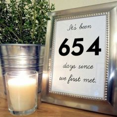 5 Creative Table Numbers