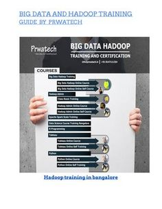 Prwatech offers you best Hadoop training and online tutorial for working professionals. http://prwatech.in  Full-time College going students and people who wish to change their domain to business analytics. The Hadoop online training is affordable, and anyone can learn at their convenient time on their respective desktop and laptop. Their official web portal for online Hadoop training function 24/7.