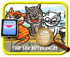 Cats Teasing a Dog - Find the Differences Game for Kids Find The Differences Games, Hidden Pictures, Different, Games For Kids, Kids Playing, Activities, Dog, Cats, Games For Children