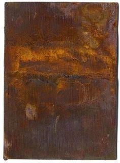 Arte y Hobby: Como oxidar casi cualquier superficie, usando la Base de Hierro y el Activador de Óxidos