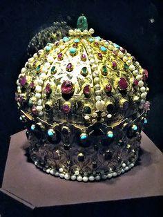 Stephan Bocskai Crown  Austria, Vienna Hofburg Imperial Treasury (Schatzkammer)