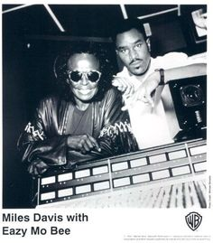 Miles Davis (rip) & Easy Mo Bee At The Studio! #jazzmeetshiphop #easymobee #milesdavis #producersgear #studiogear #hiphop #rapmusic #jazz #doobop #studio #musicproduction #dj #djgear